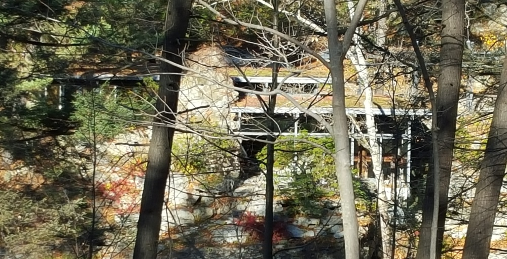 Manitoga Paths View of the House