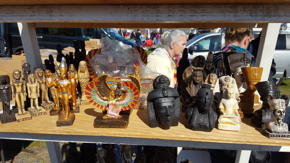 Stormville Flea Market Egyptian Icons