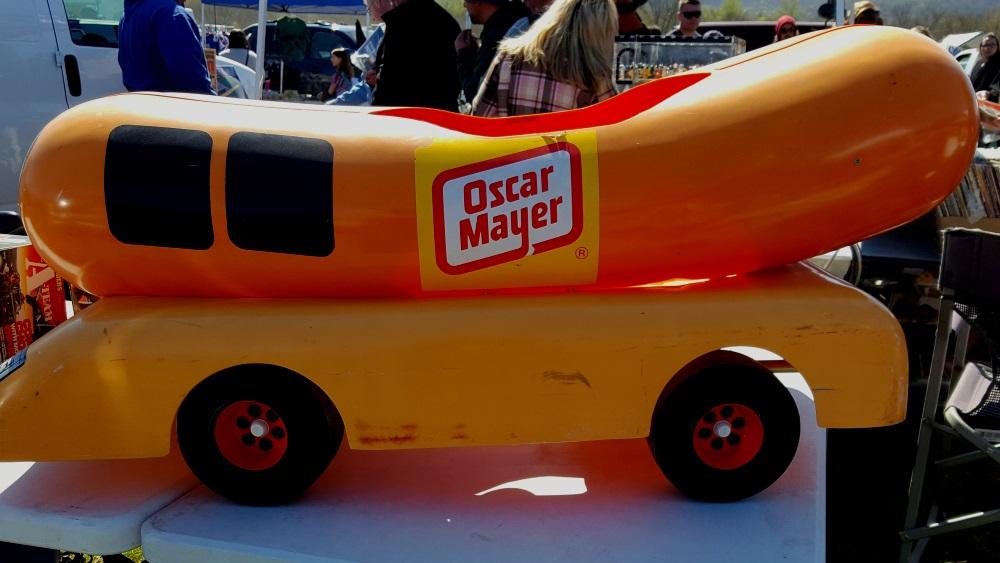 Stormville Flea Market Oscar Meyer Weiner Toy