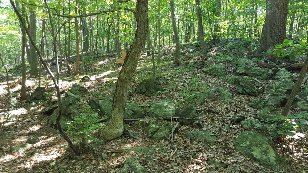 Garrison Prayer Trail The First Cross
